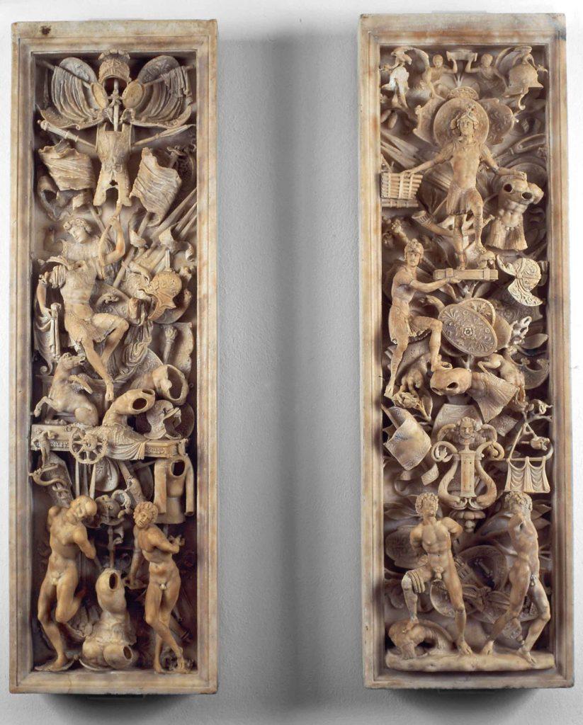 Rilievi del monumento sepolcrale di Gaston de Foix