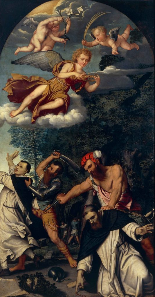 The Martyrdom of Saint Peter of Verona