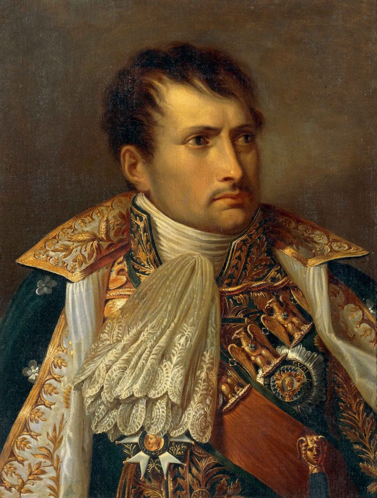 Portrait of Napoleon King of Italy