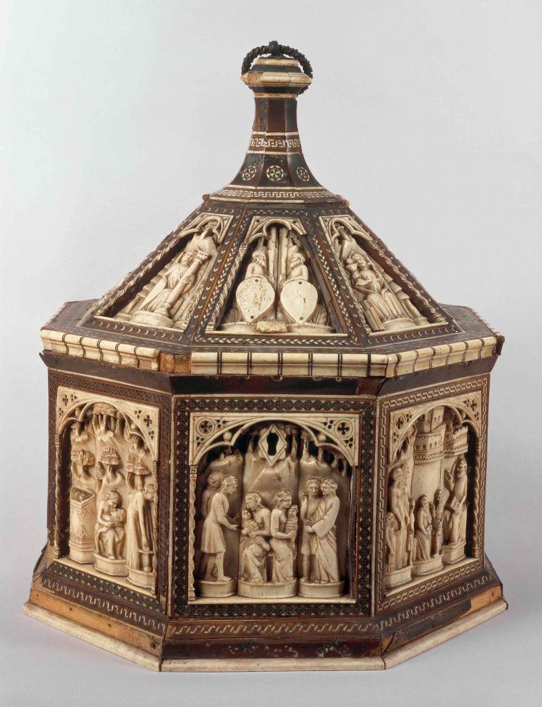Octagonal casket