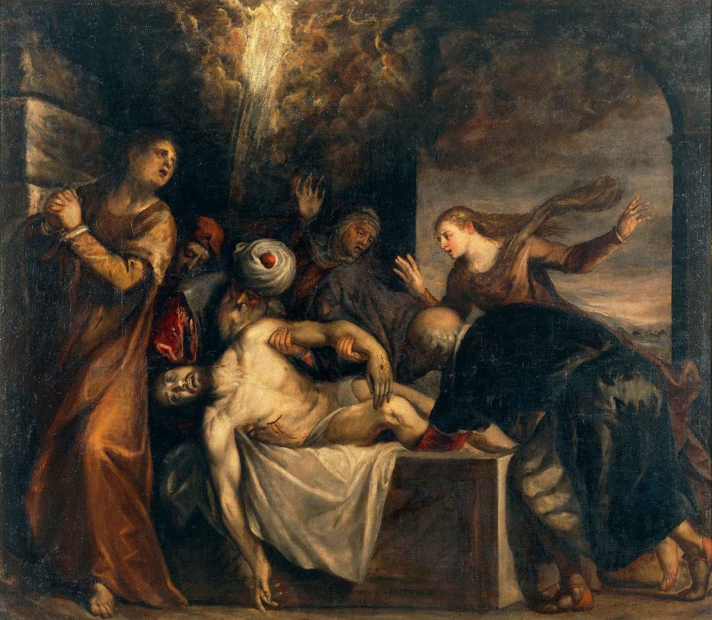 The Placing of Christ in the Sepulchre