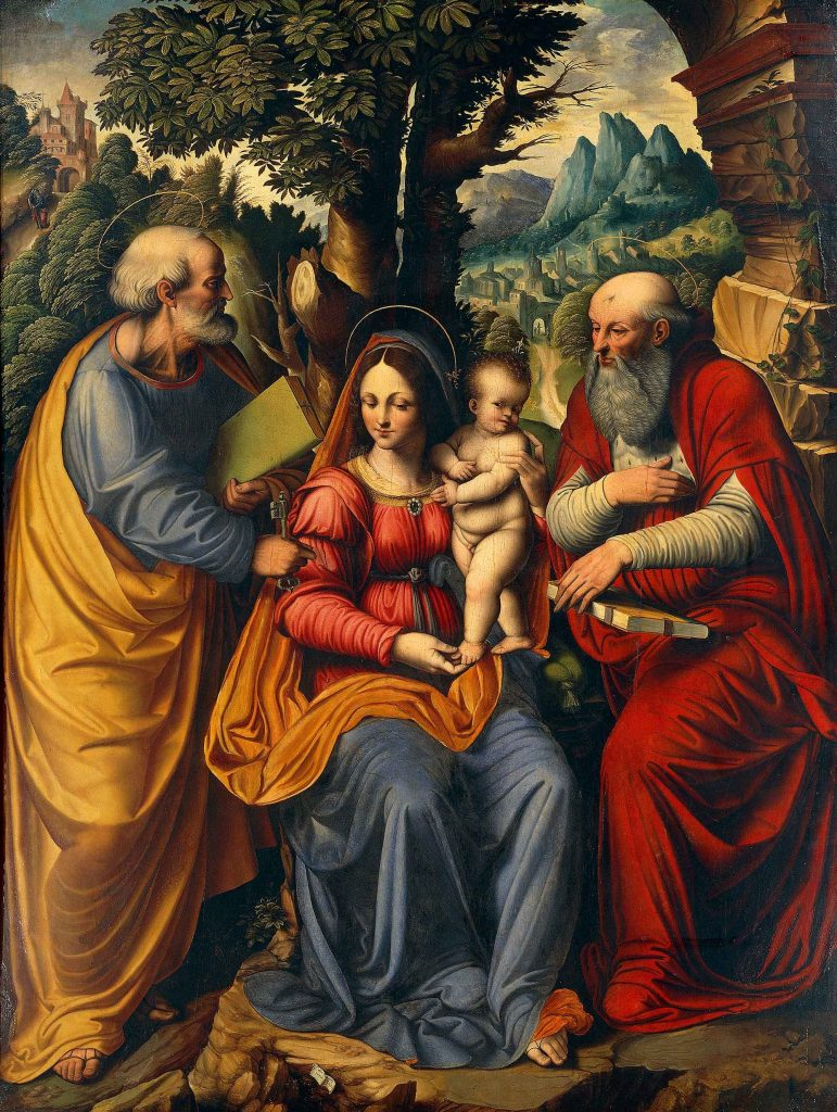 The Madonna and Child with Saint Peter and Saint Jerome