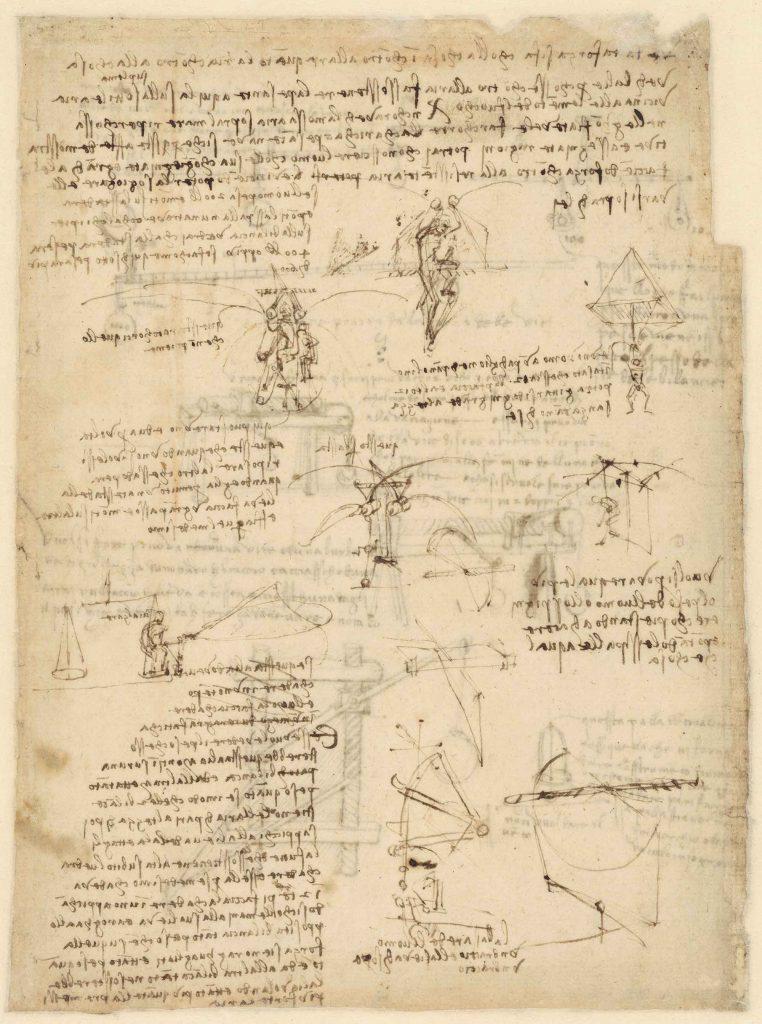 Codice Atlantico (Codex Atlanticus), f. 1058 verso
