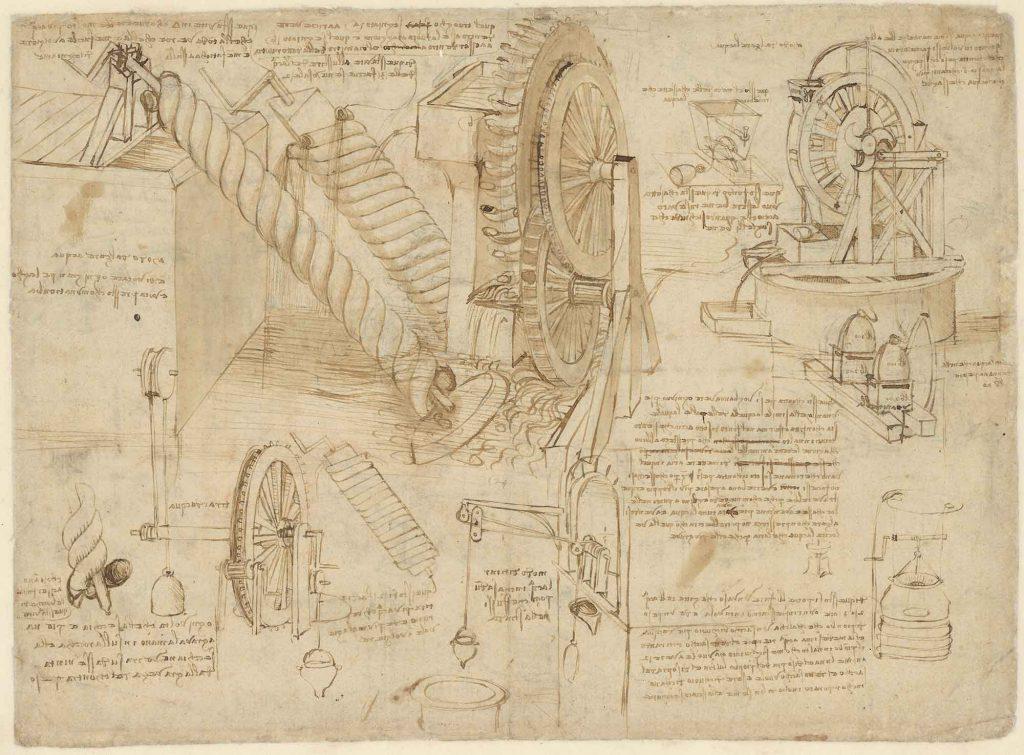 Codice Atlantico (Codex Atlanticus), f. 26 verso
