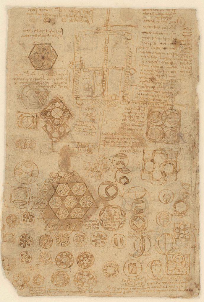 Atlantic Codex  (Codex Atlanticus), f. 272 verso