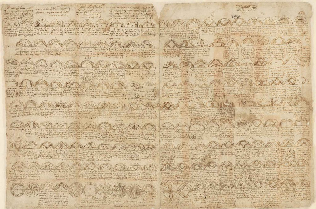 Codice Atlantico (Codex Atlanticus), f. 455 recto