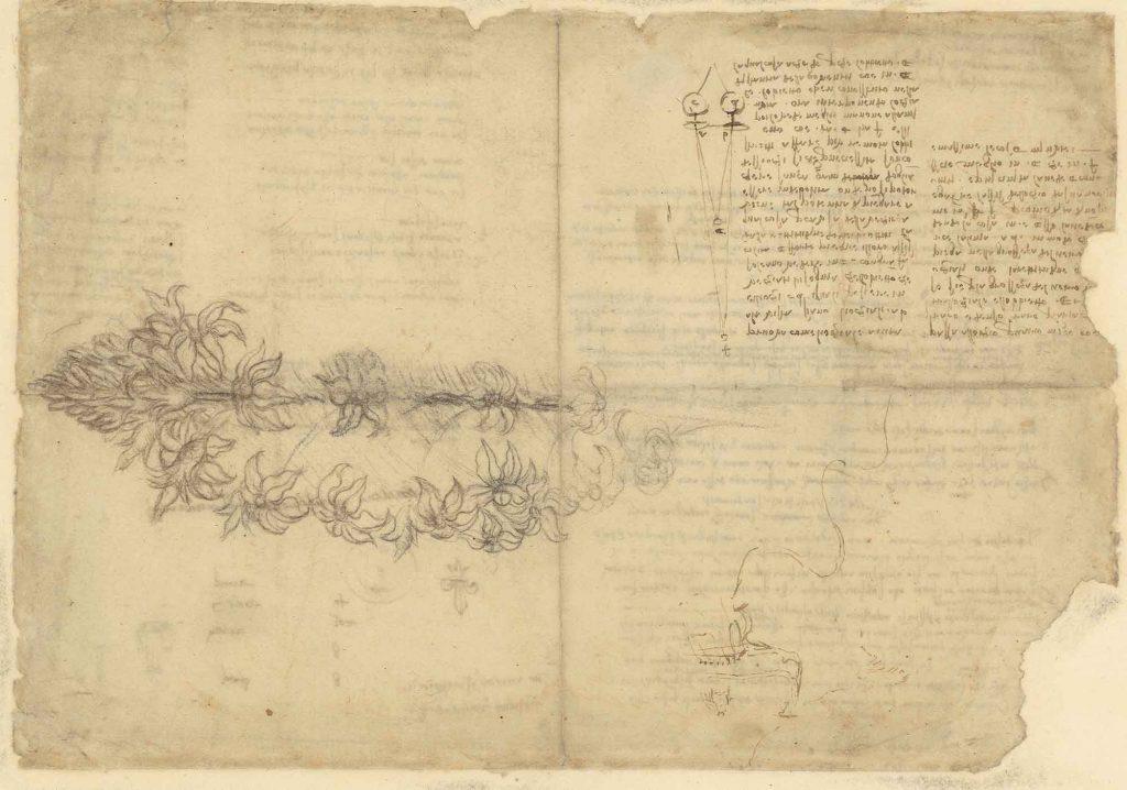 Codice Atlantico (Codex Atlanticus), f. 663 recto