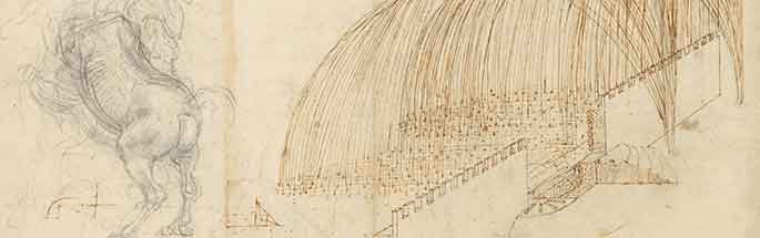 Atlantic Codex  (Codex Atlanticus), f. 72 recto