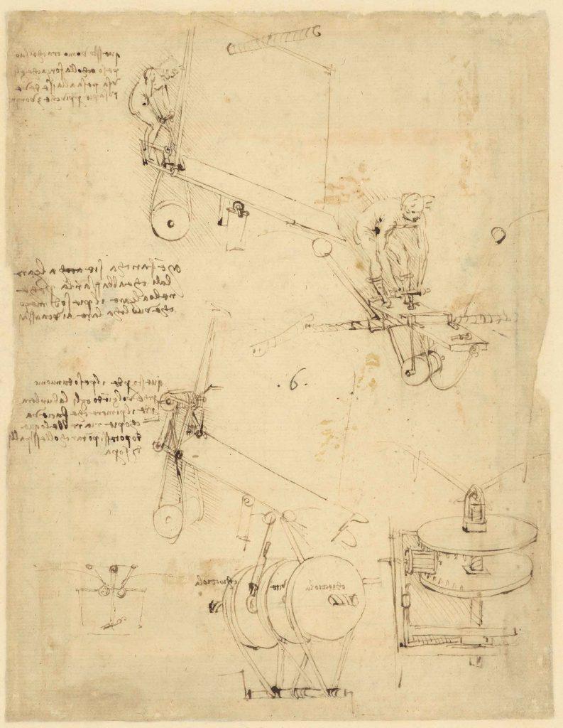 Codice Atlantico (Codex Atlanticus), f. 873 recto