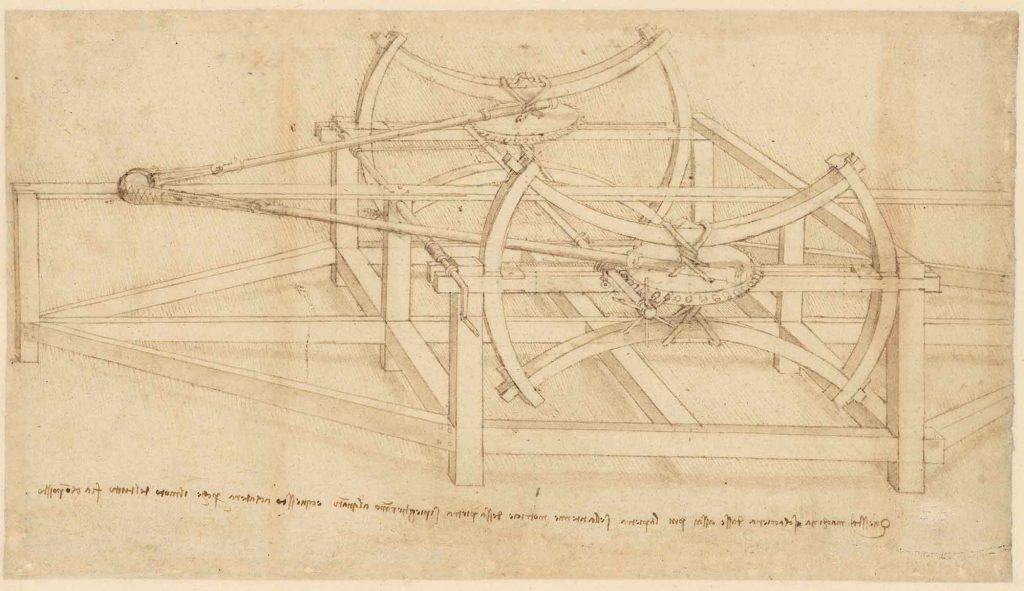 Codice Atlantico (Codex Atlanticus), foglio 145 recto
