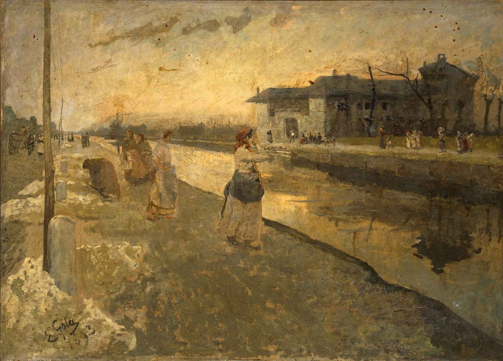 Washerwomen at the Canal