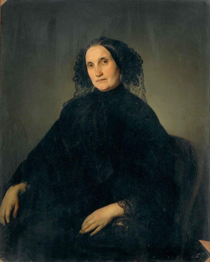 Portrait of Emilia Morosini Zeltner