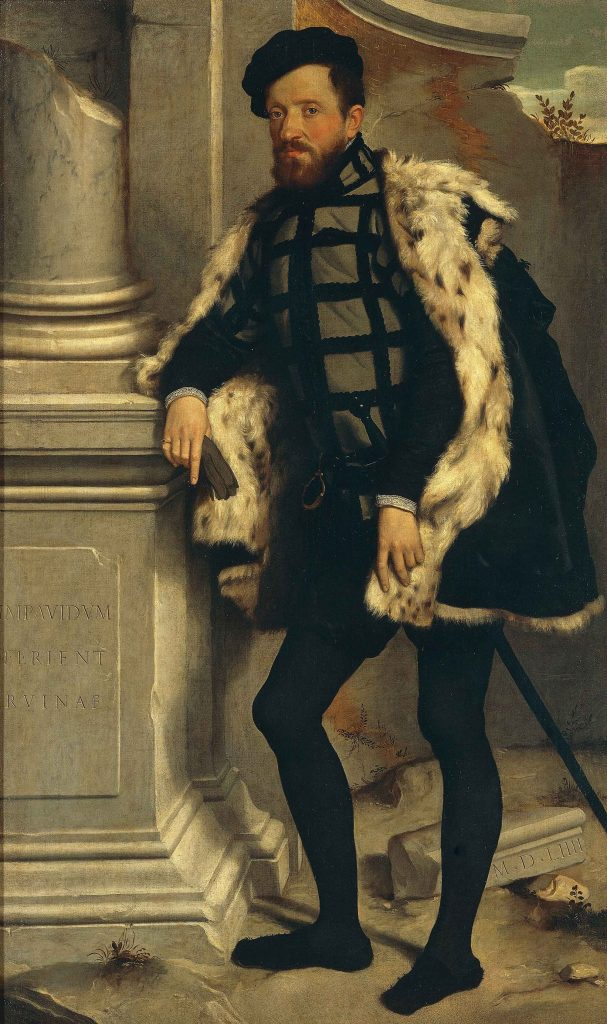 Ritratto di Gentiluomo (Michel de l'Hospital)