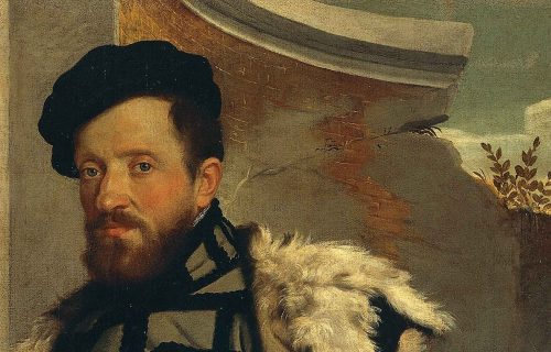 <em>PORTRAIT OF A GENTLEMAN</em><br>GIOVAN BATTISTA MORONI