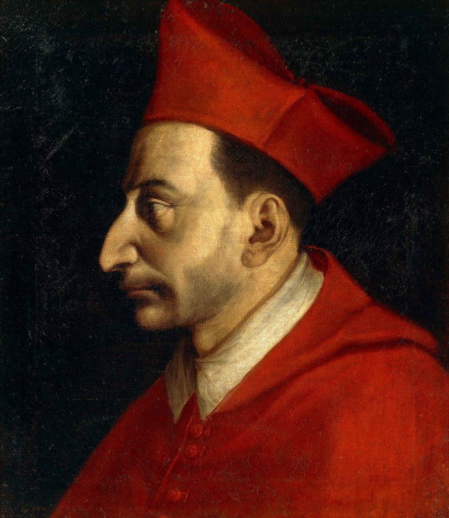 Portrait of Saint Charles Borromeo