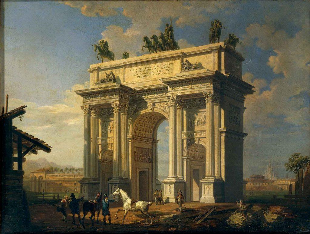 L'Arco della Pace a Milano