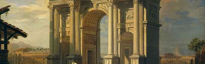 The Arco della Pace in Milan