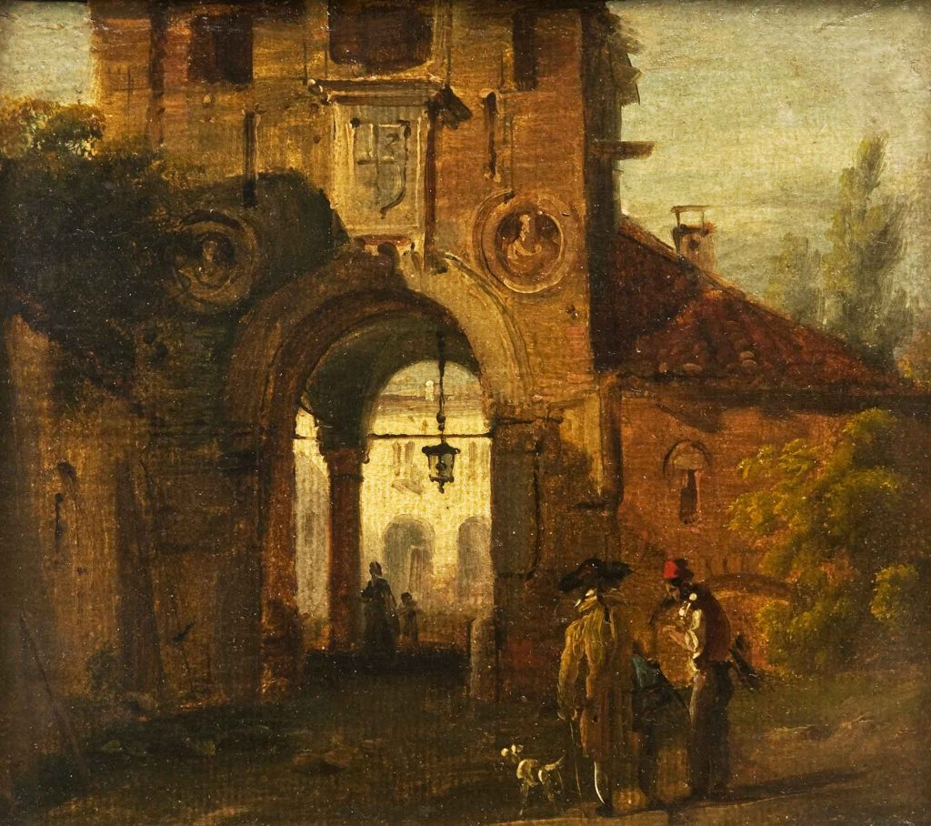 Portico in rovina