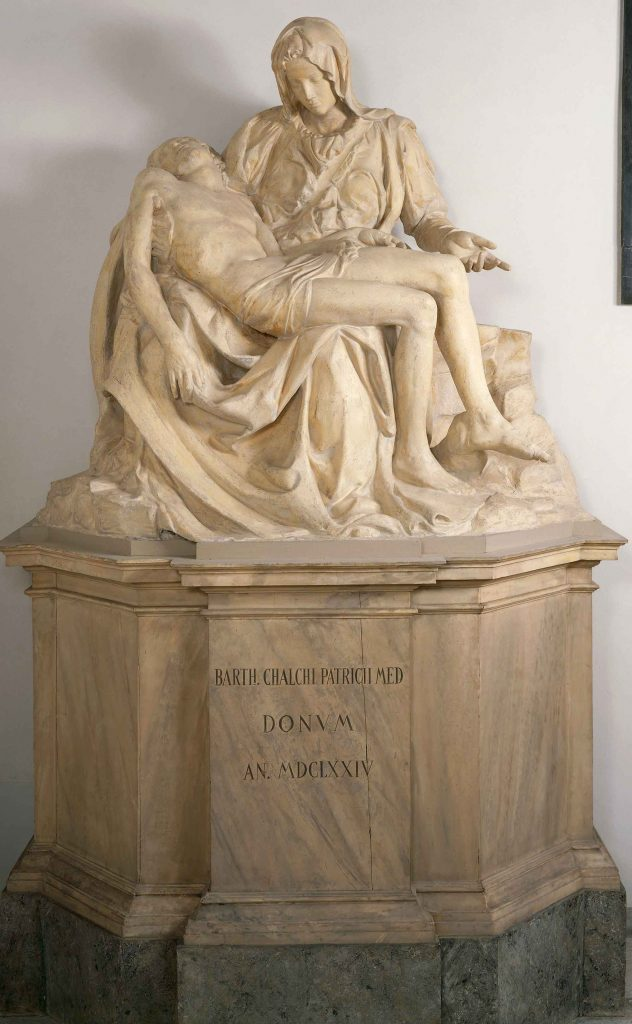 Pietà (copy from Michelangelo)