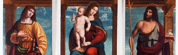 The Madonna and Child with Saint John the Evangelist and Saint John the Baptist
