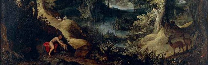 Landscape with Saint John the Baptist