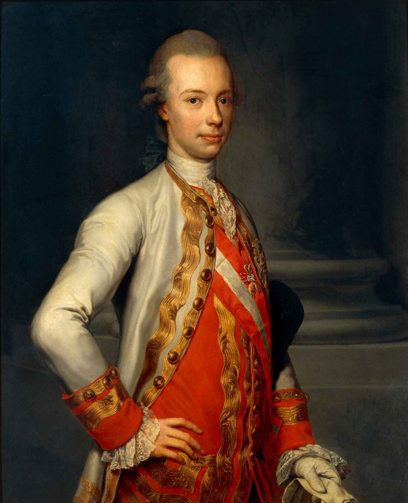Portrait of Peter Leopold of Habsburg-Lorraine (later Leopold II)