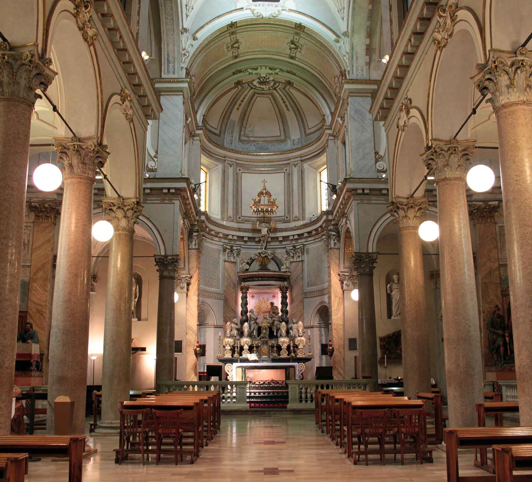 <p>San Sepolcro, chiesa superiore, Milano</p>