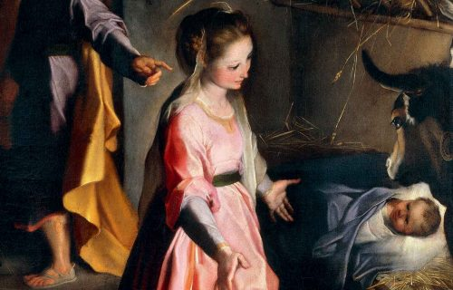 <em>NATIVITY</em><BR>Federico Barocci