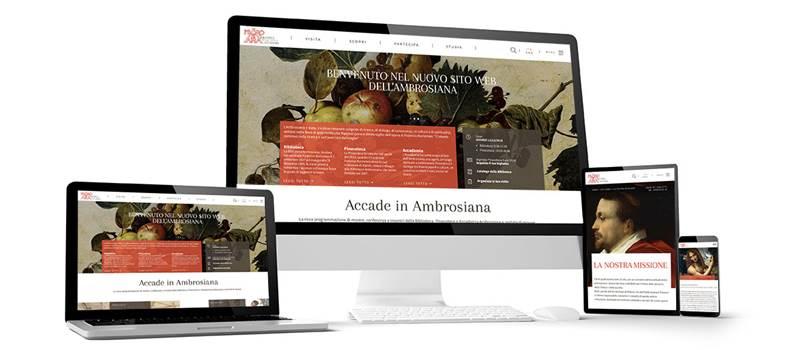 BENVENUTO NEL NUOVO SITO WEB DELL'AMBROSIANA