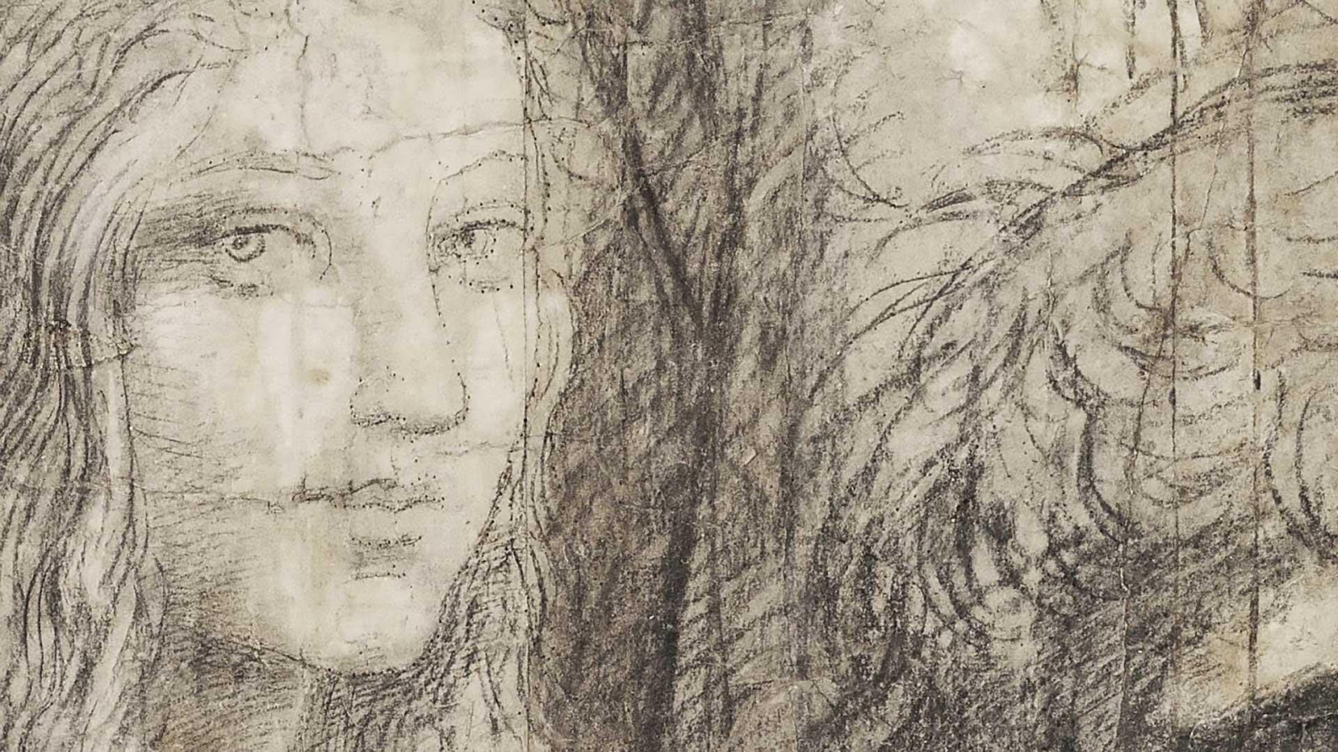 <p><em>The School of Athens</em>, Raphael (1483-1520), 1510, preparatory cartoon, charcoal and white lead, 285 × 804 cm (detail)</p>