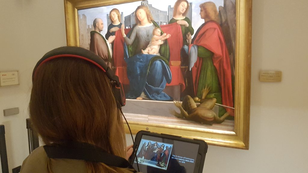 New multimedia guide for the Pinacoteca