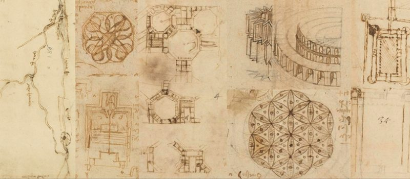 LEONARDO DA VINCI: STUDIES AND DRAWINGS OF THE FRENCH PERIOD FROM THE CODEX ATLANTICUS