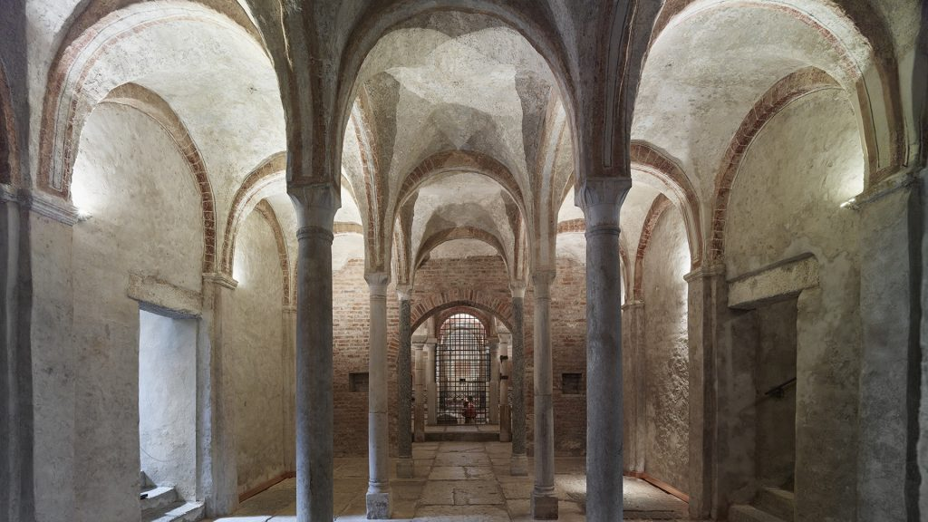 THE RESTORATION OF THE HYPOGEAN CHURCH OF SAN SEPOLCRO IS COMPLETED