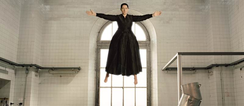MARINA ABRAMOVIC ALL'AMBROSIANA