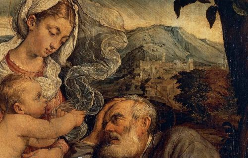 THE REST ON THE FLIGHT TO EGYPT, JACOPO BASSANO