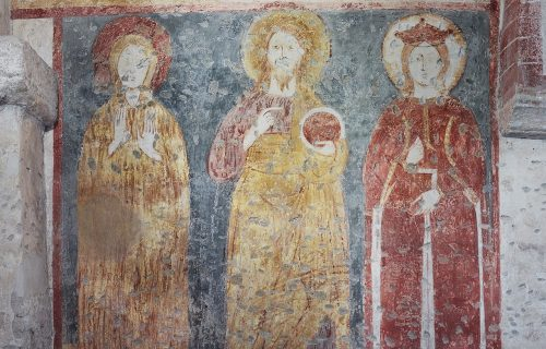 THE FRESCOES OF THE CRYPT OF SAN SEPOLCRO #1