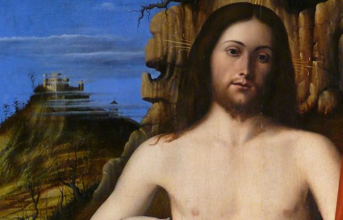 <em>THE RESURRECTED CHRIST</em><br>MARCO BASAITI