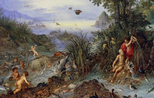 <em>ALLEGORY OF WATER</em>, JAN BRUEGHEL THE ELDER