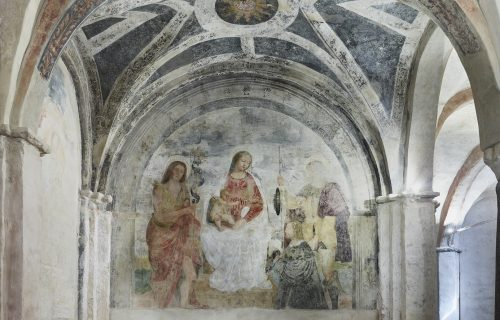 THE FRESCOES OF THE CRYPT #4