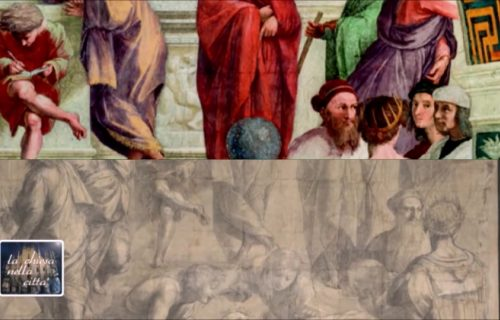 THE DIFFERENCES BETWEEN THE CARTOON FOR THE SCHOOL OF ATHENS AND THE FRESCO