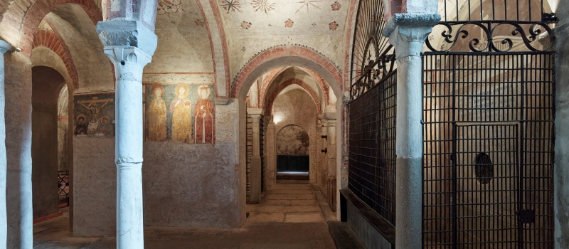 THE CRYPT OF SAN SEPOLCRO OPENS AGAIN TO THE PUBLIC ON MAY 23!
