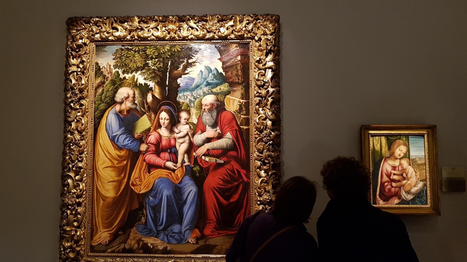 <p>La sala 3 della Pinacoteca – foto scattata ad aprile 2019</p>