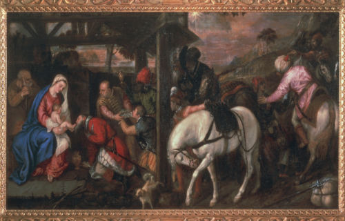 <em>ADORATION OF THE MAGI</em><BR>Titian